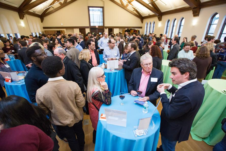 Tufts 100k networking event