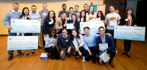 MSIM teams win top prizes in the $100k New Ventures Competition