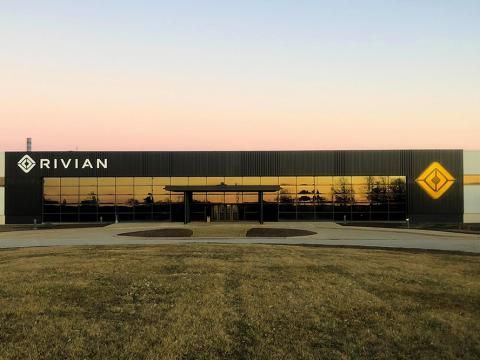 Rivian's Manufacturing Facility in Normal, IL.