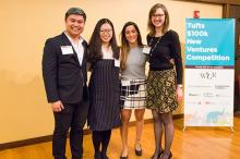 Tufts Gordon Institute finalists for $100K New Venture Competition